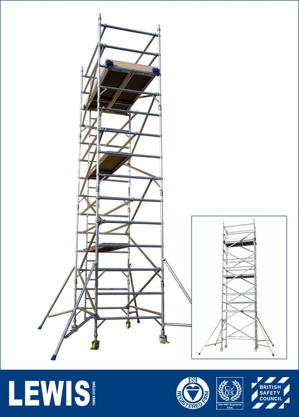 Industrial LEWIS Scaffold Towers