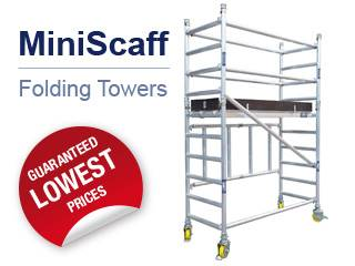 1.6 Mini Scaffold Tower From Lewis Towers