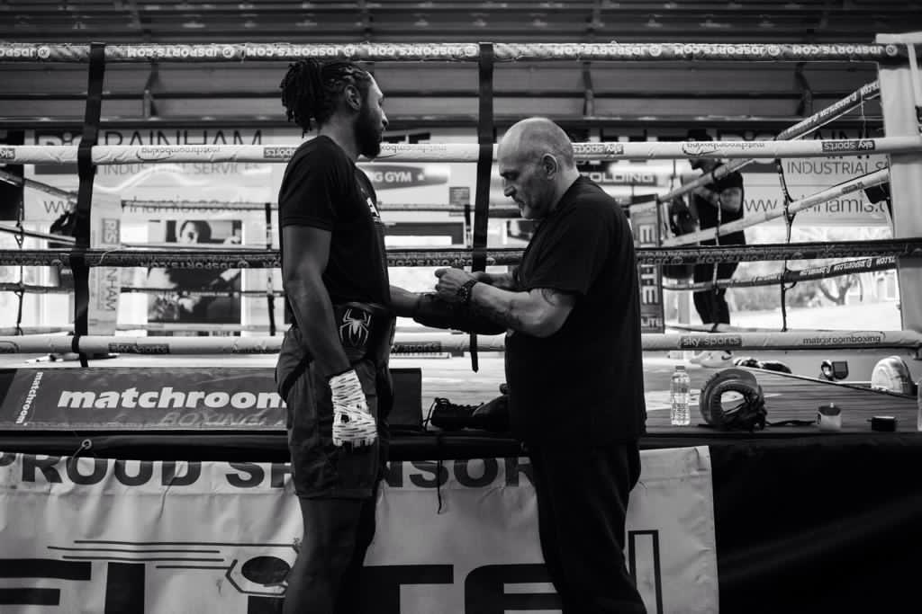 Craig Richards and Peter Sims - Boxing