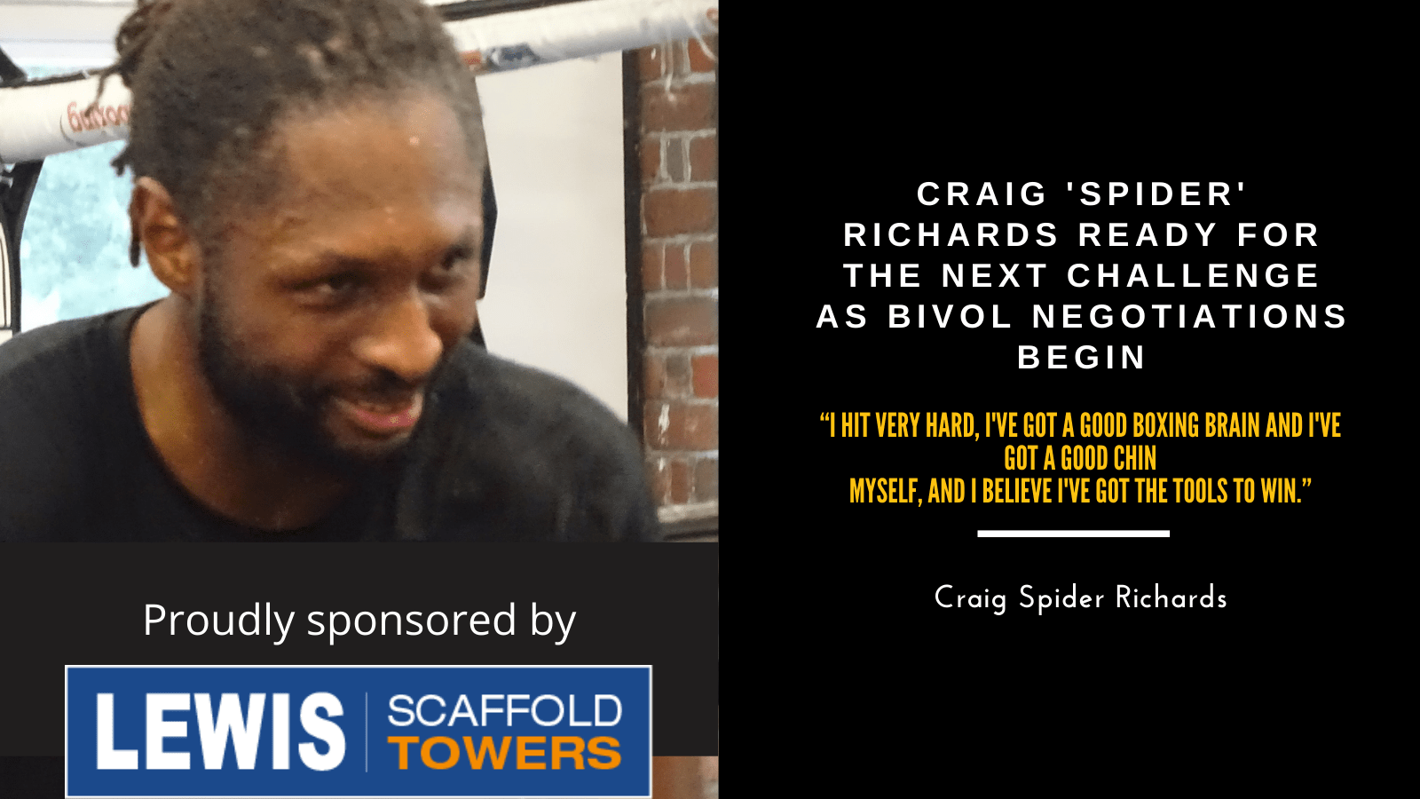 Craig update 25thFeb2021-Ready for the Next challenge
