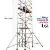 LEWIS single width industrial scaffold tower main