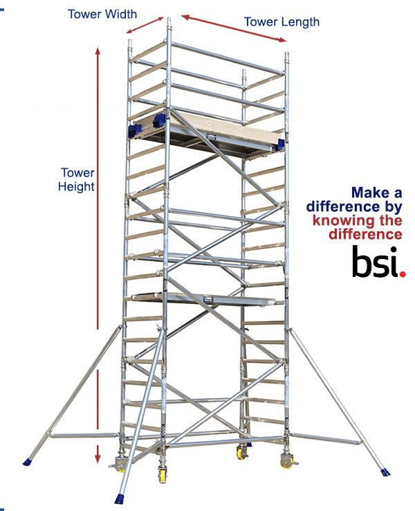 Lewis single width 250 tower 3