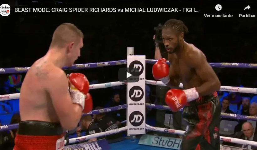 craig spider richards vs michal ludwiczak
