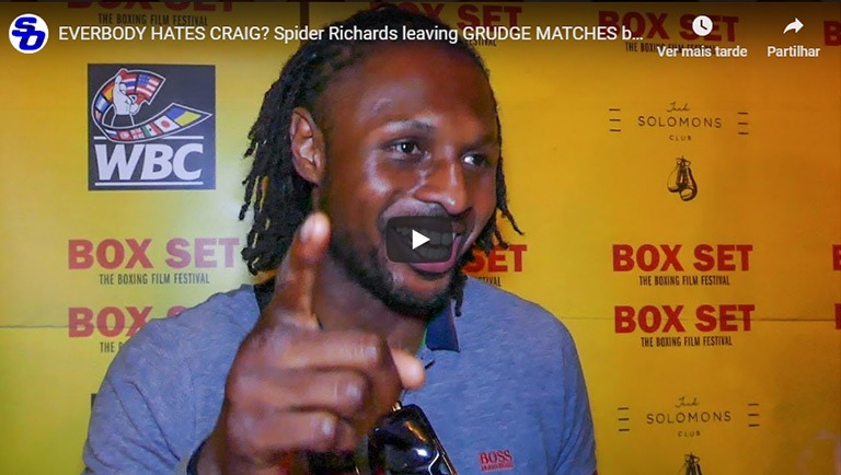everybody hates craig spider richards leaving grudge matches