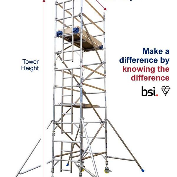 industrial scaffold tower