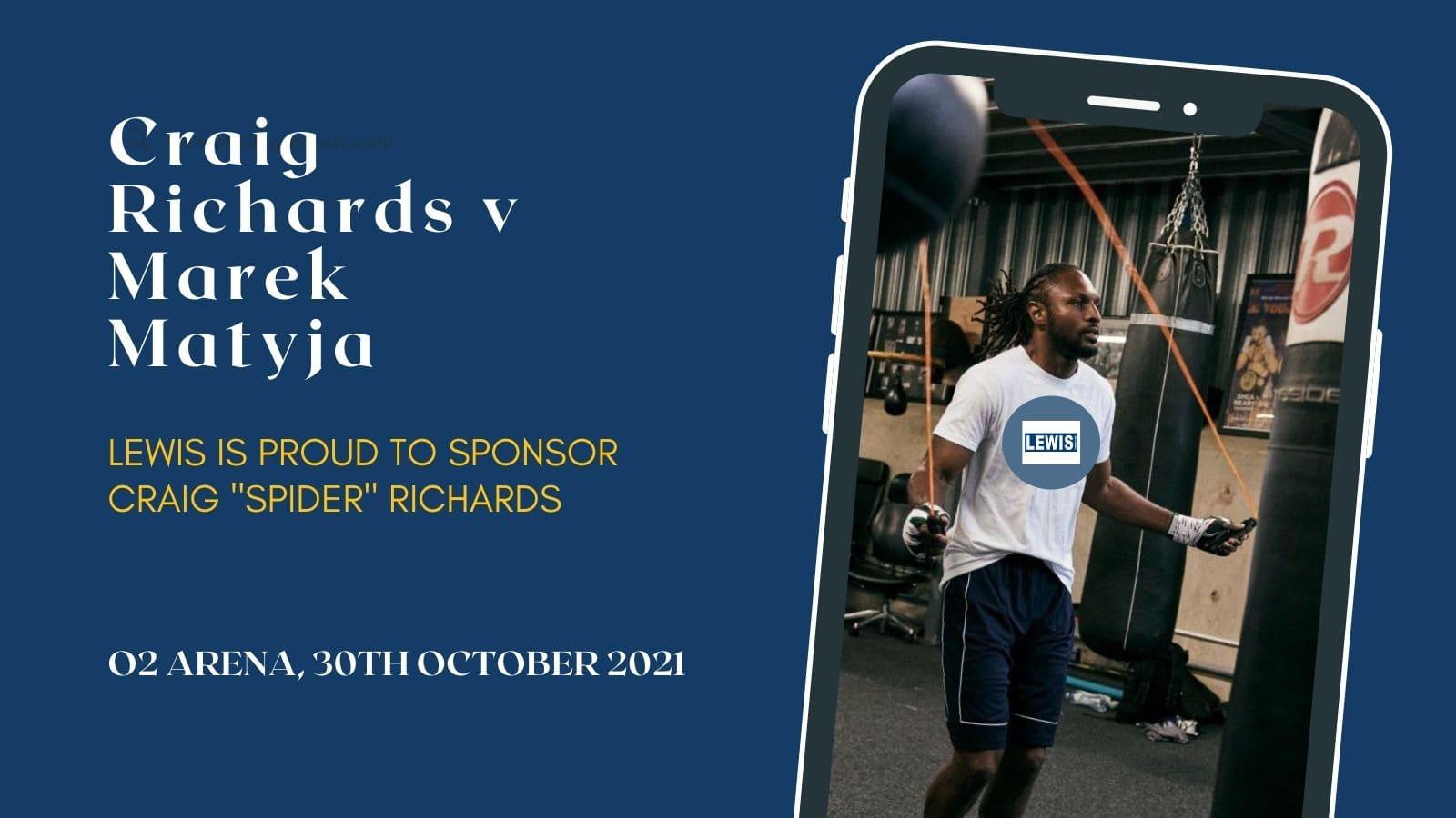 Craig Richards v Marek Matyja sponsored by Lewis Scaffold Towers-min
